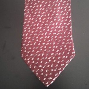Vintage Giorgio Armani Cravatte Tie (Red)